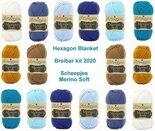 Hexagon-Blanket-Scheepjes-Breibar-kit-2020-Merino-Soft.-inclusief-patroon-en-label-en-een-canvastas--met-print