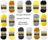 Hexagon-Blanket-Scheepjes-Breibar-kit-2021-Merino-Soft-inclusief-patroon-en-label-en-een-canvastas--met-print