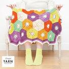 Hexagon-Blanket-Scheepjes-Merino-Soft-inclusief-patroon-en-label-en-een-canvastas--met-print