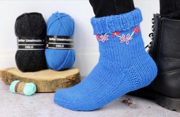 Botter-Ijsselmuiden-Oslo-sokkenwol