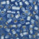 Toho-Glaskralen-rond-8-0-blauw-zilver