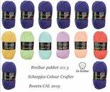 Breibar-Pakket-2113-basiskleur-7-x-Harlingen-blauw-paars-en-6-bijkleuren-Scheepjes-Colour-Crafter-voor-Rozeta-CAL-2019-direct-leverbaar