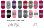 Durable-Colourful-Cosy-Flower-Shawl-Breibar-kleuren-garen-pakket-5-+-Gratis-download-patroon
