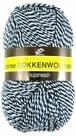 Noorse-sokkenwol-Markoma-licht-blauw-wit-zwart-6846