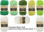 Attys-bloemenshawl-Merino-Soft-Scheepjes-groen-4