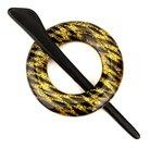 Breiwerksluiting-rond-goud-zwart-kleur-met-glinstering