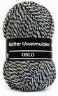 Botter-IJsselmuiden-Oslo-sokkenwol-8-grijs-zwart-wit
