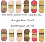 Nuts-about-Squares-Cal-2017-kleur-pakket-1001-Nu-met-gratis-het-Scheepjesboek-Yarn