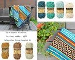 Nya-Mosaic-Blanket-Scheepjes-Stone-Washed-XL-Breibar-haakpakket-3021-incl-kleurverdeelschema