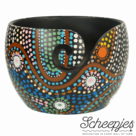 Limited-Edition-yarn-bowl-Aboriginal-Scheepjes-garen-kom