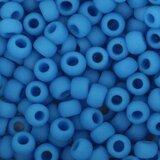 Toho Glaskralen rond maat 8-0 blauw  _13