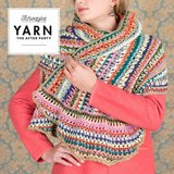 Scheepjes Wrapket Scarf compleet pakket van Merino Soft Brush en Merino Soft + gratis patroon Yarn the after party._13