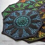 Stained Glass Wonder Blanket van Scheepjes Whirl en Whirlette compleet pakket met garen ( excl patroon)_13