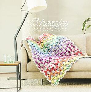 Prism Blanket van Scheepjes Colour Crafter origineel pakket + gratis Scheepjes canvas tas