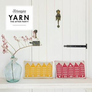 Canal Houses Cushion Scheepjes Catona - set van 2 kussens + gratis patroon The After Yarn Party 80