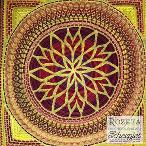 Scheepjes Rozeta CAL Colour Crafter High Noon - Simy's Choice - levering week 47