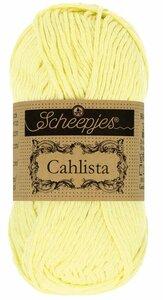 Scheepjes Cahlista Lemon Chiffon 100