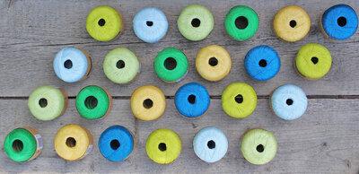 Scheepjes Zomerkit Tafelkleed  Breibar kleuren pakket 4. Incl patroon en haaknaald