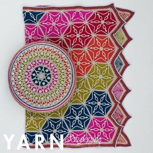 Flower of Life Blanket Scheepjes Colour Crafter compleet deken haakpakket