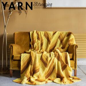 Winter Sun Blanket van Scheepjes Chunky Monkey- deken haak pakket