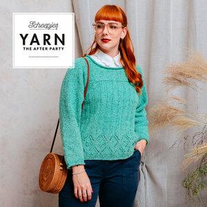 Bookworm Sweater van Scheepjes Secret Garden- Garen pakket + gratis patroon YARN The After Party 123