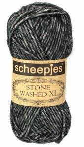 Scheepjes Stone Washed XL Black Onyx 843