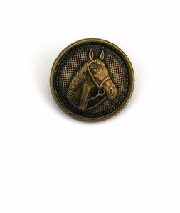 Knoop brons paard