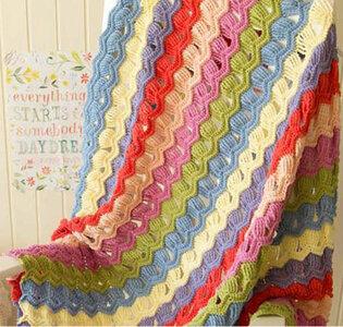Softfun vintage kleuren deken pakket 177