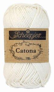 Scheepjes Catona 50gr. bridal white / wit 105