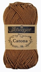 Scheepjes Catona 50gr. root beer \ bruin 157