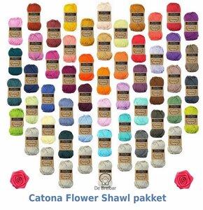 Catona Flower Shawl origineel pakket