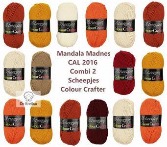 Mandala Madness Combi 2 Scheepjes Colourcrafter CAL