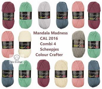 Mandala Madness Combi 4 Scheepjes Colourcrafter CAL