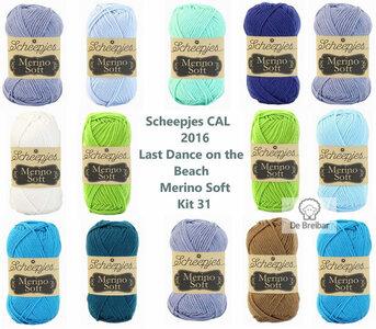 Scheepjes CAL 2016 kit 31 Merino Soft