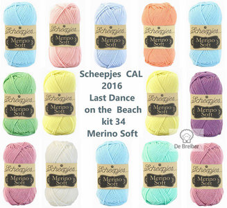 Scheepjes CAL 2016 kit 34 Merino Soft
