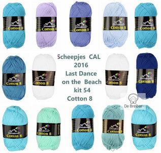 Scheepjes CAL 2016 kit 54 katoen Cotton 8