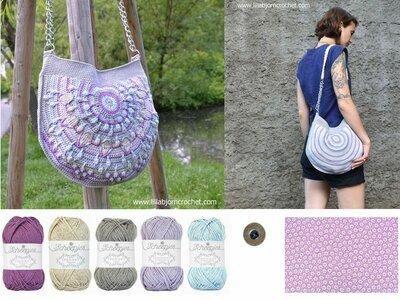 Peacock Tail Bag Pastel kit original