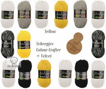 Lossen en Vasten Yellow Colour Crafter Scheepjes CAL