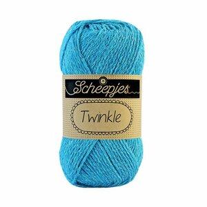 Scheepjes Twinkle aqua blauw 910