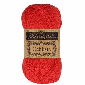 Scheepjes Cahlista Hot Red 115