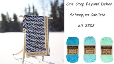 One Step Beyond Deken Kit 2208 De Breibar