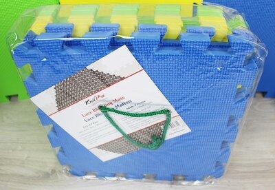 Knitpro lace blocking mats 30x30x1 cm - 1x9 stuks blok matten