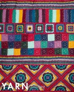 Happy Folk Blanket Scheepjes Cahlista gehaakte deken pakket