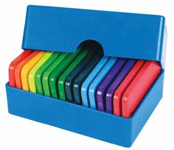 KniitPro Knit Blockers 20 stuks regenboog kleuren