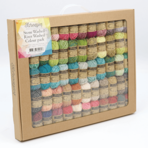 Scheepjes Stone Washed-River Washed Colour Pack 58 x 10   gram