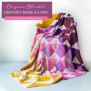 Origami Blanket Spring - Scheepjes Metropolis compleet pakket