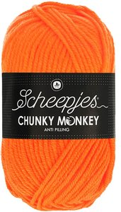 Chunky Monkey Neon Orange 1256 Scheepjes